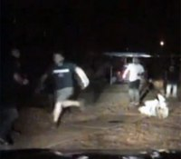 Video: Okla. man tackles cop arresting DUI suspect