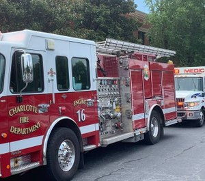 The Charlotte Fire Department will work with Mecklenburg EMS (MEDIC) to ensure patient safety as they test a new protocol that allows firefighters to leave the scene of a low-acuity medical call if an ambulance is on the way. (Photo/Charlotte Fire Department)