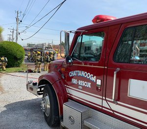 (Photo/ Chattanooga Fire Department)