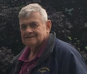 Hague Volunteer Fire Department Lt. Michael Cherubini, 71, was riding passenger in a brush truck in a Fourth of July parade when he fell ill.