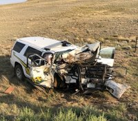 Officials: Colo. LEO injured by intentional, head-on collision