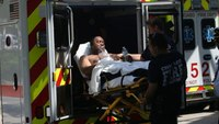 Backdraft injures 4 Chicago firefighters