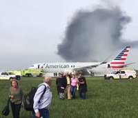 Officials: Engine disk failure caused Chicago plane fire