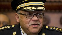 Philly police boss exits after crime, corruption fight