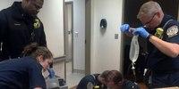 Fire chief saves man in cardiac arrest