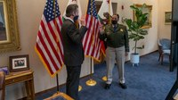 First woman to lead Calif. Highway Patrol sworn in