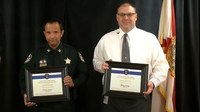 Fla. man becomes 2nd civilian ever to win heroic Back the Blue award