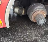 Wheels fall off RI fire truck days after union calls for action on aging fleet