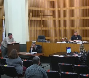 The Decatur Ambulance Regulatory Board proposed changes to First Response Ambulance Service's response time requirements and penalties at a contentious meeting on Tuesday.