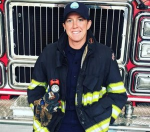 Wellesley Firefighter Joanie Cullinan was recognized by the New England Patriots Foundation for her volunteer work raising awareness about occupational cancer. Cullinan was diagnosed with Stage 3 melanoma and recently returned to work after undergoing treatment.