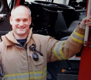 Buffalo Grove Firefighter Kevin Hauber, 51, died from colon cancer in 2018. Buffalo Grove has chosen not to appeal the latest court decision to award full line-of-duty pension benefits to Hauber's family. (Photo/Buffalo Grove Professional Firefighters and Paramedics Local 3177 Facebook)