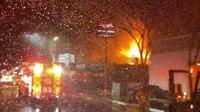 3 Calif. FFs injured battling 3-alarm blaze
