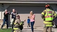 Video: Mutual aid assists FF with marriage proposal