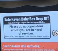Ind. city installs county's 1st Safe Haven baby box at fire station