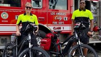LAFD medics receive donation of electric bicycles