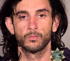 Jesse Herman Bates, 38, of Seattle, was arrested this week and transferred by the FBI to the District of Oregon to face a federal charge of civil disorder after allegedly striking a Portland firefighter-medic with a metal ball bearing fired from a slingshot. (Photo/Multnomah County Sheriff's Office)