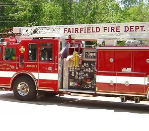 Fairfield firefighters chased down and apprehended a man who was allegedly setting an abandoned house on fire Wednesday.