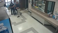Video: Sergeant saves choking EMT at NJ police station