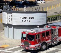 Photo of the Week: LAFD FFs save Hollywood Bowl