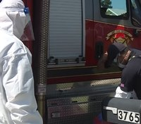 Fla. FD uses community donations to conduct at-home virus tests