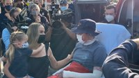 Video: FF burned in Calif. wildfire released from hospital after 114 days, 17 surgeries