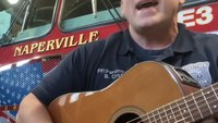 Watch: Ill. FF-medic performs country song parody promoting COVID-19 safety