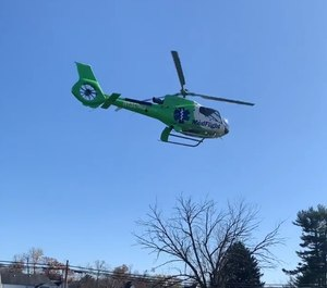 The Roseville Volunteer Fire Department reported that a drone interfered with MedFlight 6 as it attempted to land at the Roseville fire station to transport an ailing child. The incident was reported to the Federal Aviation Administration and is under investigation by the Crooksville Police Department.