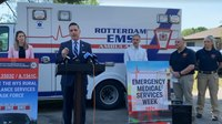 NY lawmakers, EMS officials announce bill to establish rural ambulance task force