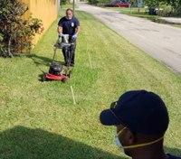 Fla. paramedics finish yardwork for veteran suffering heat exhaustion