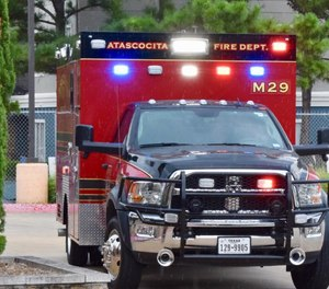 A trio of Atascocita Fire Department paramedics have made voluntary deployments to South Texas to help tackle calls in a COVID-19 hotspot. (Photo/Atascocita Fire Department Facebook)