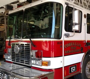 A Corvallis firefighter has resigned following allegations that they stole opioids from an ambulance and falsified supply logs over the course of at least 18 months, according to city officials.