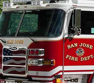 Santa Clara County officials have announced priority COVID-19 testing for first responders to help agencies avoid staffing shortages. More than 10% of the city's firefighters were quarantined after at least eight tested positive for the virus earlier this month. (Photo/San Jose Fire Department)