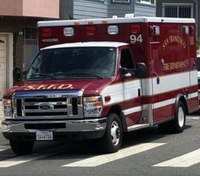 San Francisco ambulance stolen with medics, patient in back