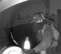 Video: Authorities seek help identifying Wash. fire station burglars