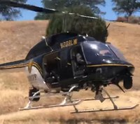 Man airlifted from hills 2 days after being shot
