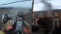 Watch: Helmet-cam video shows Pa. FFs make 2nd-story rescue at fatal fire