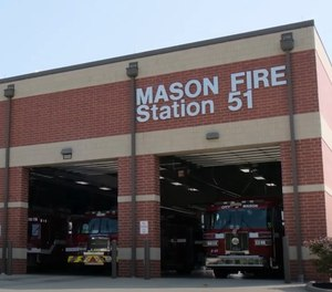 A Mason Firefighter-EMT has been arrested and accused of punching Fire Chief Bryan Brumagen and Sgt. Jeremy Saylor during a fight at Fire Station 51.