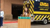 Specialized ambulance for heart and lung patients unveiled in Oklahoma City