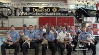 Video: Orlando FD experiences baby boom with 15 new 'littlest recruits'