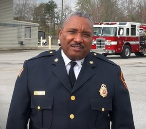 Augusta Fire Chief Chris James has released a written statement denying allegations made by EMS Chief James Kelly that he discriminated against Kelly because of his sexual orientation.