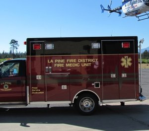 St. Charles Health System has sued to stop the La Pine Rural Fire Protection district for billing it, instead of patients, for ambulance transports from one of its clinics.