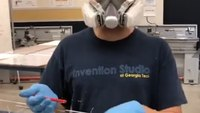 Ga. engineering student, son of paramedics, helps mass-produce COVID-19 equipment