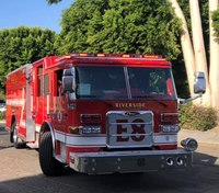 Calif. fire engine stolen while FFs aid patient