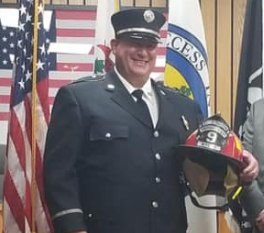 Weirton Fire Department Lt. and Hooverson Heights Volunteer Fire Department Assistant Chief Brian Ritchie, 50, died Tuesday due to COVID-19 contracted at work.