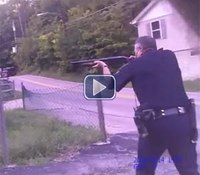 Video: Ohio standoff ends in fatal shooting of suicidal man