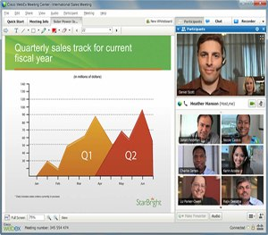 WebEx classroom training educates officers so they can be their best. (Image Cisco)