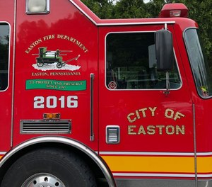 An ordinance that governs operations at the Easton Fire Department has been revised to include gender-neutral terminology. (Photo/Easton PA Official Facebook)