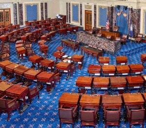 Two U.S. senators have introduced a bill that would allow ambulance providers to be reimbursed for treatment in place during the COVID-19 pandemic.