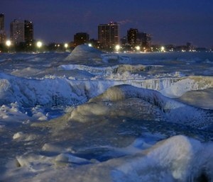 Record low temperatures spurred dire warnings from meteorologists, widespread closures of schools and businesses and led to a disaster proclamation from Ill. Gov. J.B. Pritzker. (Photo/AP)