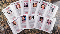 Playing cards depicting victims of local cold cases removed from Ohio jail for 'security reasons'